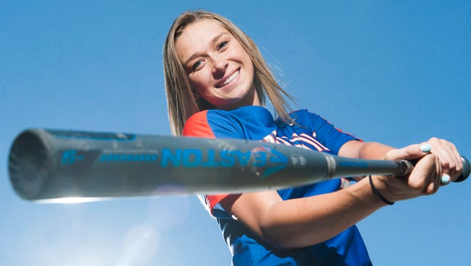 Millville senior catcher Rian Eigenmann is the softball Player of the Year.