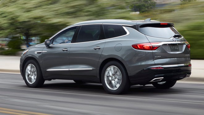 General Motors' brands were hurt by mechanical problems including transmissions on its newly introduced large crossover SUVs such as the Buick Enclave, Chevrolet Traverse and GMC Acadia. Buick's Enclave was the most reliable vehicle the brand had until the redesign, and now it's the worst.