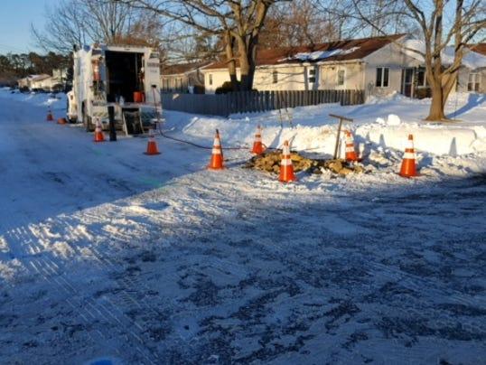 Gas Leak in Brick Township