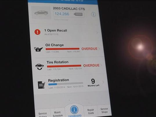App tells you if your car is part of recall for App that tells you what is in a picture