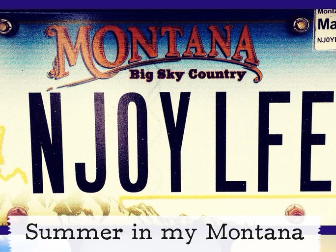 Shots of summer scenes across Montana from the My Montana section