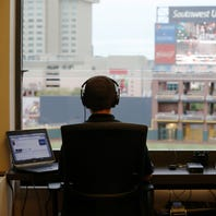 Chihuahuas play-by-play man Tim Hagerty becoming a voice of El Paso