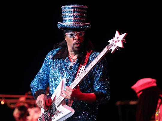 Funk great Bootsy Collins will be in Memphis to pay tribute to Earth, Wind & Fire founder Maurice White.
