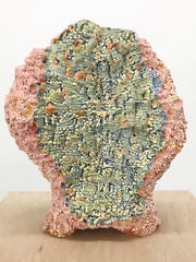 "Rebecca Murtaugh's ""Pinch and Paddle"" is a ceramic"