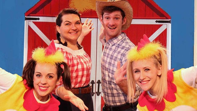 "The Schorr Family Firehouse Stage will host two performances of ""Chicken Dance"" on Saturday."