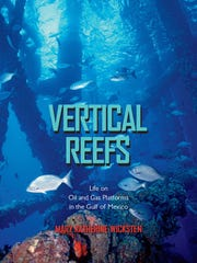 Verticals reefs features the undersea structures of