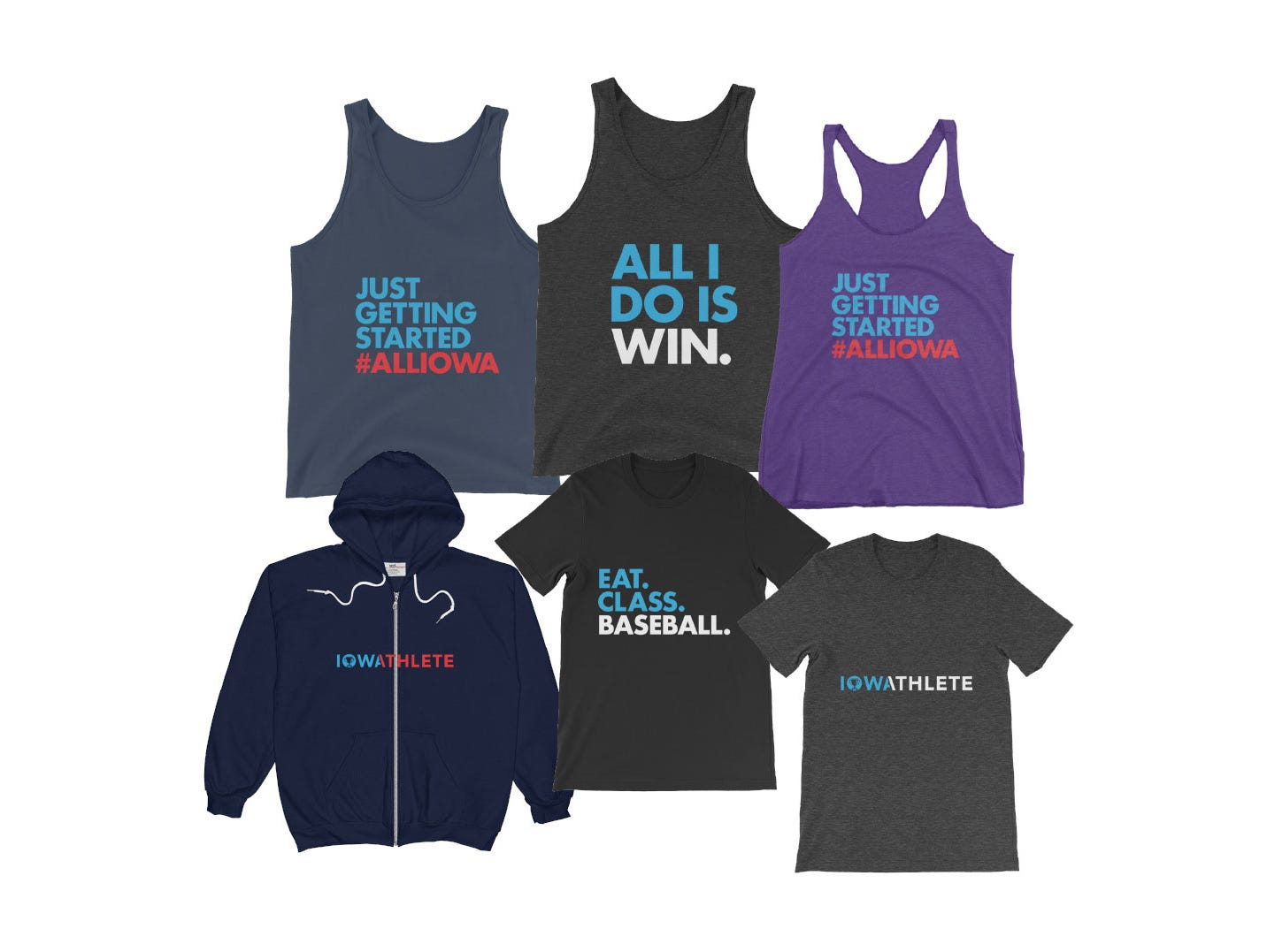 Stock up on T-shirts, tanks and more ahead of the Des Moines Registers Sports Awards.