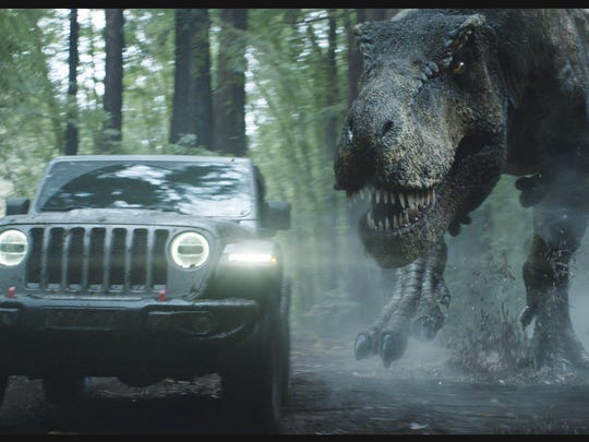 Fiat Chrysler Super Bowl ads feature 'Jurassic Park.'