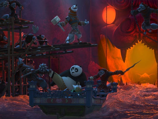 "Po returns in Universal Studios Hollywood's ""Kung Fu"