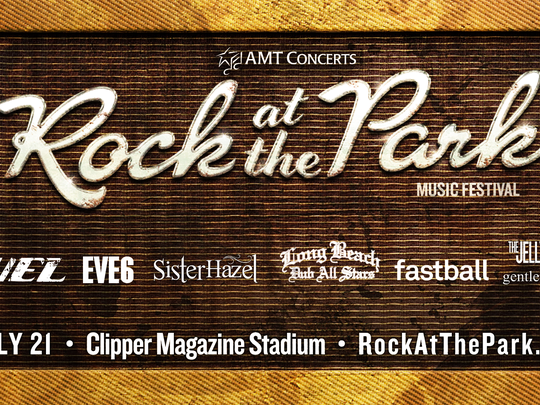 Rock at the Park concert lineup
