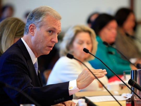 Assemblyman John Wisniewski, who is seeking the Democrat