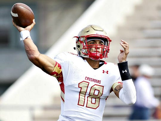 Bergen Catholic QB Jarrett Guarantano, one of the most sought-after recruits in New Jersey, chose Tennessee.
