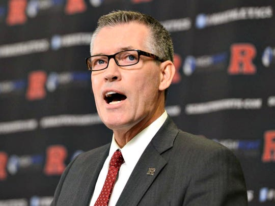 Rutgers athletic director Pat Hobbs has a vision to fix the program.