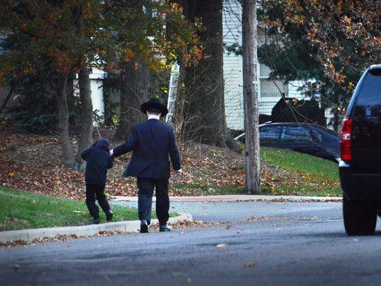 For years, a debate about the need for sidewalks raged between Rosemawr residents and a local Orthodox Jewish congregation. The Clifton City Council ultimately voted to install sidewalks on Dwas Line Road, and the project was completed last winter.