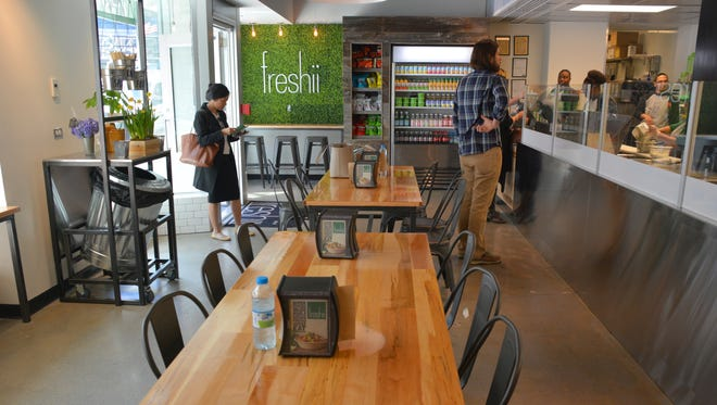 Freshii a fast-casual chain that sells fresh salads, burritos, wraps and juices, is hoping to gain an edge with Chipotle fans next month. The restaurant will offer half off a selection of Mexican-inspired food on Feb. 8, the same day Chipotle will temporarily close its stores for an all-staff meeting on food safety.