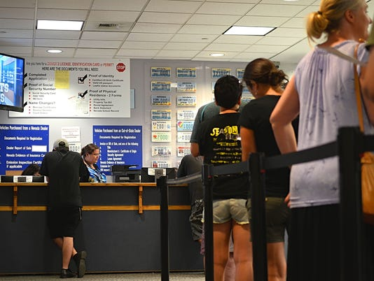 Nevada Department of Motor Vehicles DMV