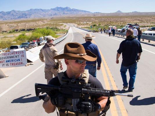 Nevada grazing protest