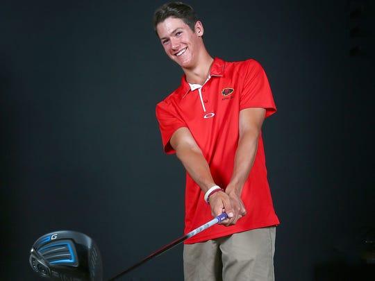 Palm Desert High School golfer Charlie Reiter, June