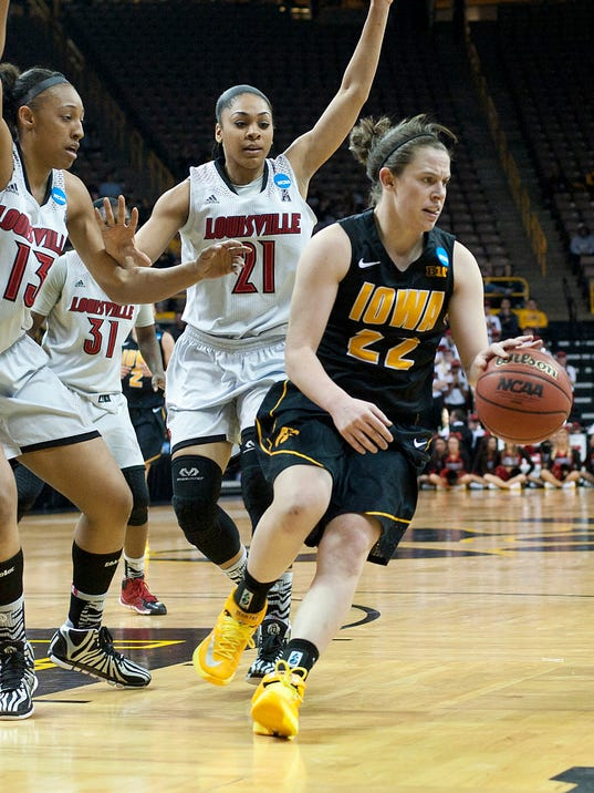 NCAA Womens Basketball: NCAA Tournament-2nd Round-Louisville vs Iowa
