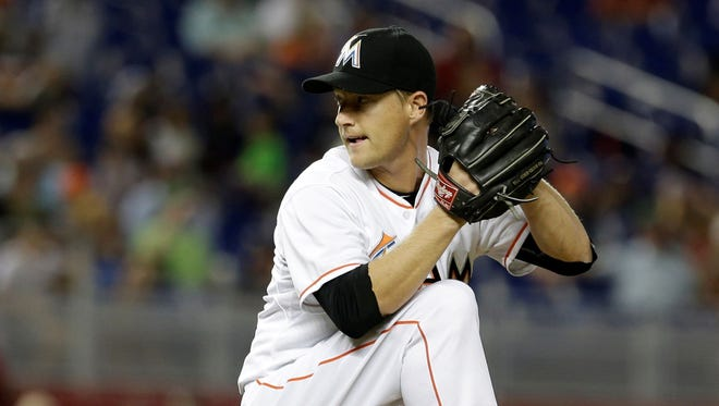 Roberson graduate Chris Narveson is a pitcher for the Miami Marlins.