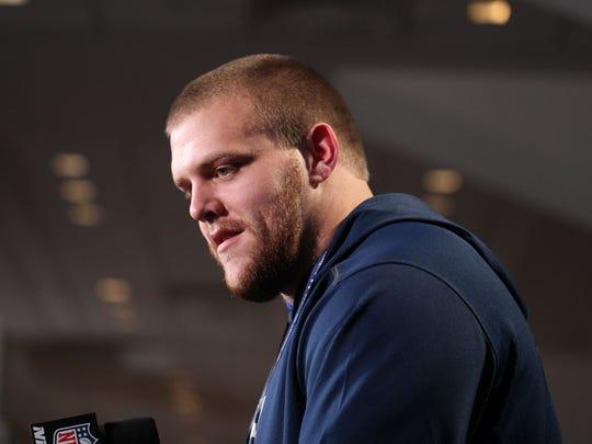 Sports Illustrated has Iowa's Brandon Scherff No. 8 on its list of NFL Draft prospects.