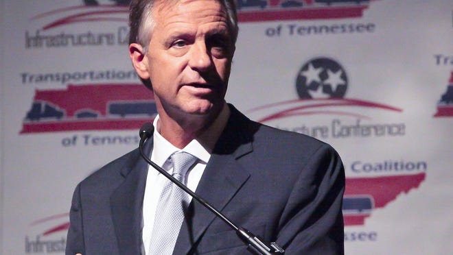 Gov. Bill Haslam Tuesday told an infrastructure conference in Murfreesboro that road construction is a priority for government.