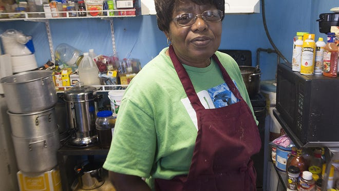 Sylvia Tisdale plans to use some of the money donated after a break in at Epps Christian Center to install new security. She's also planning a future meal to thank the community for coming to the church's aid in a time of need.