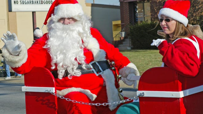 The arrival of Santa is one highlight of the annual Price Hill Thanksgiving Day Parade.
