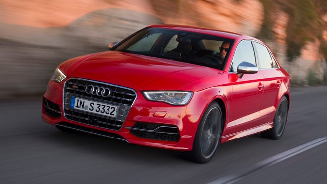The 2015 Audi S3.