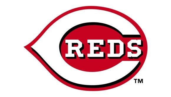 The logo of the Cincinnati Reds
