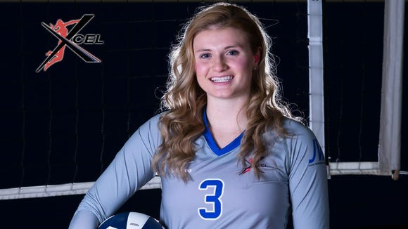 West Henderson senior Taylor Houck has committed to play college volleyball for Tennessee Tech.
