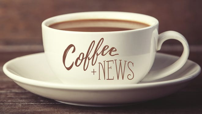 The next Coffee+News event will be on Wednesday at Kavarna.