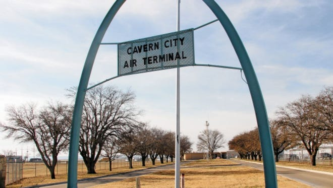Work on a taxiway at the Cavern City Air Terminal started earlier this year. The project will make it parallel with the runways.