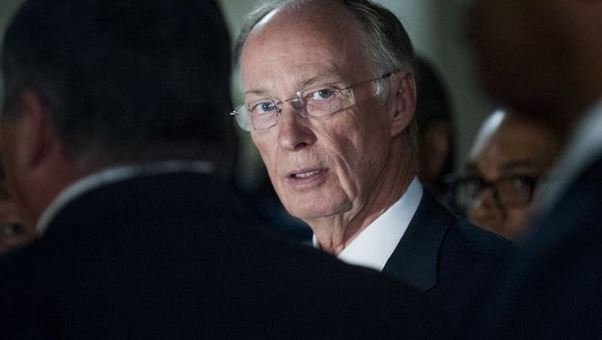 Legal counsel for Gov. Robert Bentley say Bentley is not the target of a grand jury investigation.