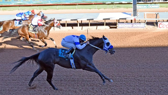 First Valiant Sign will run in Sunday's All American Derby in Ruidoso.