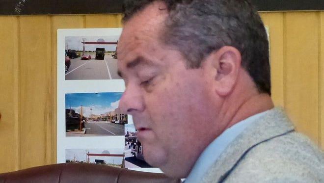 Wade Proctor at a previous hearing.