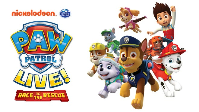 Paw Patrol Live! Race to the Rescue comes to Hershey Theatre March 28-29.