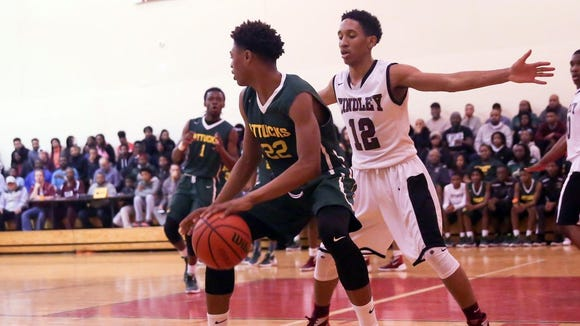 Nike Sibande of Crispus Attucks will participate in the Top-60 Workout on Sunday.