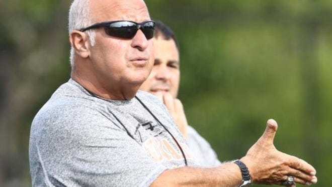 Former Tuckahoe High School coach John D'Arco Sr. filed a federal lawsuit against the school district claiming age discrimination.