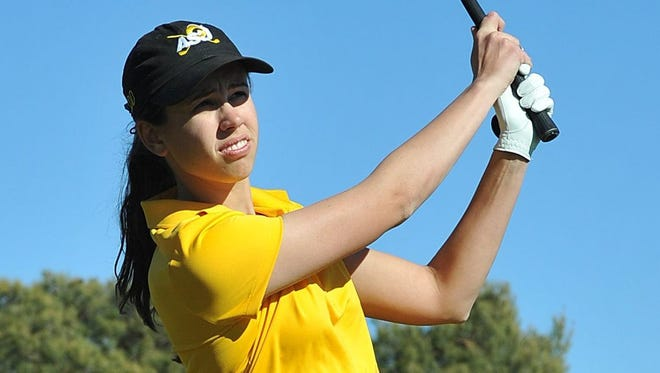 Kamryn Cummings, a former Central High School standout, will be a junior this fall at Angelo State. She's one of five returners for the Rambelles' golf team.
