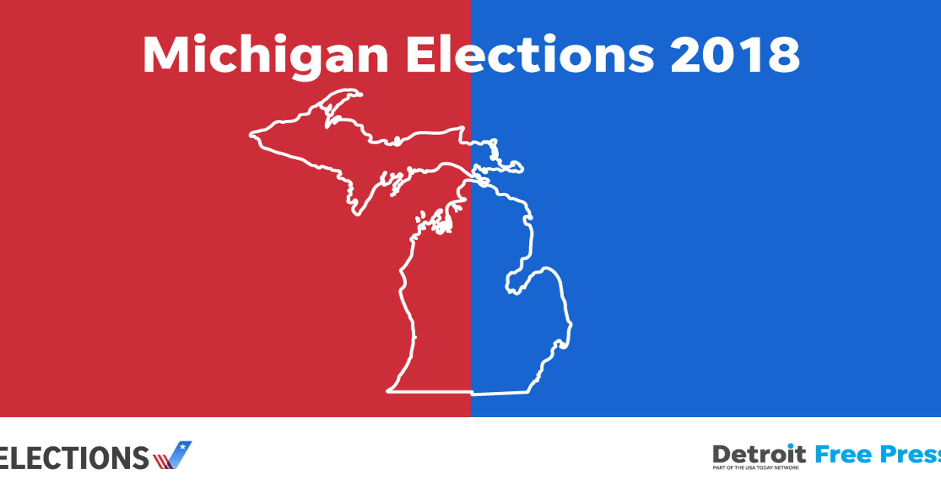 Michigan election results for Oakland, Wayne and Macomb counties