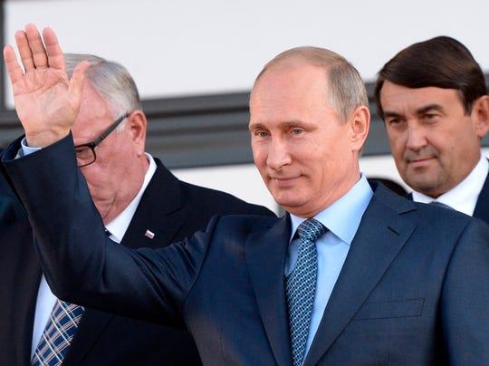 AP APTOPIX Russia Putin