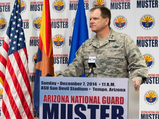 Maj. Gen. Michael McGuire, adjutant general for Arizona,