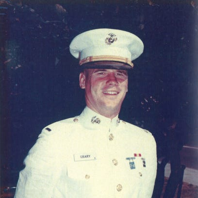 Marine 2nd Lt. Morrell J. Crary, who grew up in Salem,