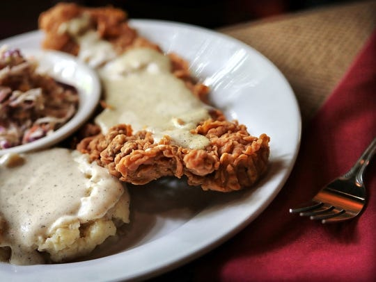 Another comfort food favorite, chicken fried steak