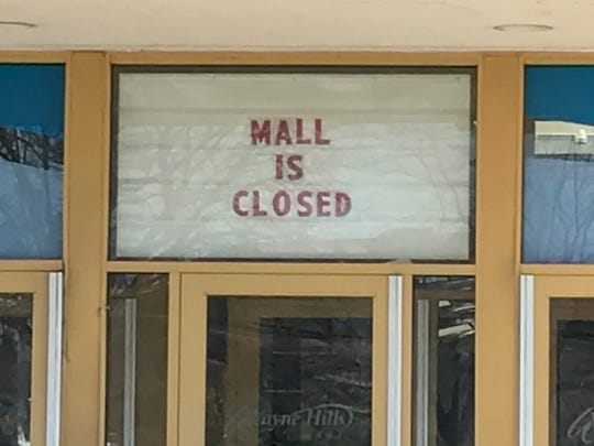 Wayne Hills Mall with entrances off Hamburg Turnpike and Berdan Avenue, is closed and empty except for the wing that houses Burlington Coat Factory. The mall is slated to be demolished to make room for a new supermarket as well as other structures. No timeline has been set for the work.