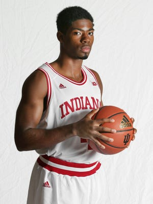 Robert Johnson (pictured) was a pleasant surprise -- and a regular starter -- for Indiana as a freshman.