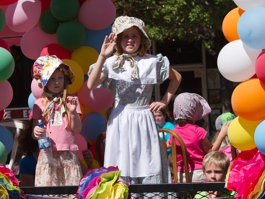 The Pioneer Day parades in Cedar City and Washington City will both begin at 10 a.m. Saturday.