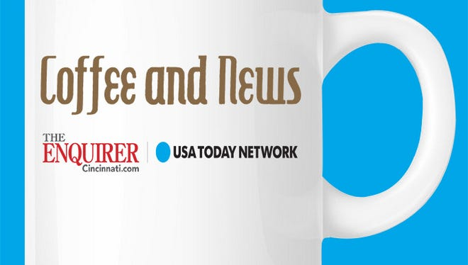 Coffee and News is a monthly opportunity to informally meet The Enquirer's staff and leadership