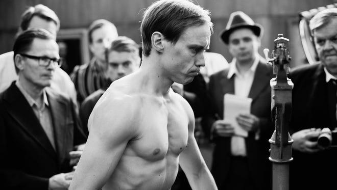 "Actor Jarkko Lahti portrays boxer Olli Maki in the film ""The Happiest Day in the Life of Olli Maki."""